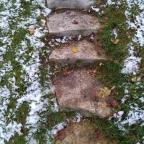 November Landscaping Stone Steps Project