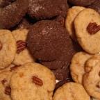 "Vegan ""Butter Pecan"" and Cocoa Sugar Cookies"